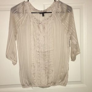 Cream Colored Express Blouse